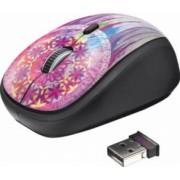 Mouse Wireless Trust Yvi Purple Dream Mov
