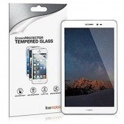 kwmobile Screen protector tempered glass for Huawei MediaPad T1 8.0 Honor T1 in crystal clear - Premium quality