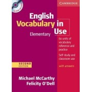 English Vocabulary in Use Elementary with Answers and CD-ROM by Michael McCarthy