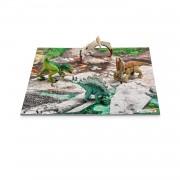 Set Figurine Schleich Mini Dino + Puzzle Discover - 42213