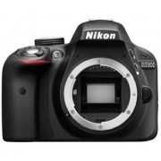 Nikon D3300 Digital SLR Camera (Black) Body Only with 4 GB Card and Camera bag