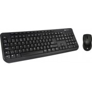 Kit tastatura butoane multimedia + mouse optic Serioux MKM5100 cu fir negru PS/2