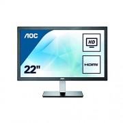 AOC e2276Vwm6 48.6 cm LCD/LED Monitor - Black
