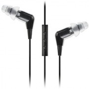 Etymotic Research MC3 Noise Isolating In-Ear Earphones with 3 Button Headset Control for iPad iPhone iPod Touch Black