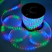 LED Fénykábel 10m színes