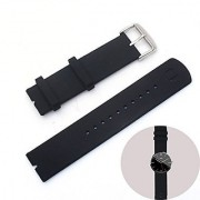 Motorola Moto 360 Watchbands Strap by Rerii Silicone Watchbands Strap for Moto 360 Smart Watch Anti Slip Breathable & Waterproof Design Very Good for Sporting