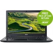 "Laptop Acer Aspire E5-575G (Procesor Intel® Core™ i5-7200U (3M Cache, up to 3.10 GHz), Kaby Lake, 15.6""FHD, 4GB, 256GB SSD, nVidia GeForce 940MX@2GB, Wireless AC, Linux, Negru)"