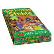 Christmas Stable Jigsaw by Juliet David