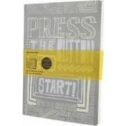 Moleskine Cover Art Start Squared Journal by Maykel Cordeiro Nunes
