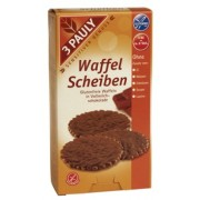 Minigofre fara gluten, imbracate in ciocolata cu lapte