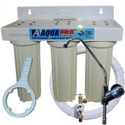 Purificateur à Eau 3 Filtres sous evier - Compteur en option