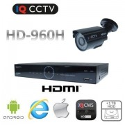 Kamerový set 960H s 1x bullet kamera s 20m IR + DVR s 1TB HDD