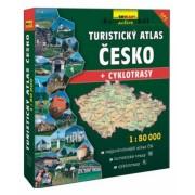 mapa turistický atlas Česko 1:50 šanon