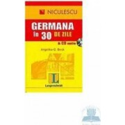 Germana in 30 de zile + CD audio - Angelika G. Beck