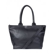 Dames real leather shopper