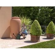 Rezervor pentru apa de ploaie tip Amphora culoare Terracotta 500lt.