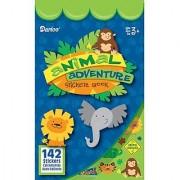Bulk Buy: Darice Crafts for Kids Sticker Book Animal Adventure 142 stickers (24-Pack) 106-3714