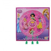 Disney Princess 2 in 1 My First Play Board-Wooden Magnetic Dart Write White Board