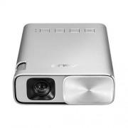 Videoproiector E1, 150 ANSI, WVGA, Argintiu