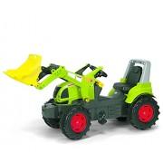 rolly toys 710232 rollyFarmtrac CLAAS Arion 640 con pala rollyTrac - Tractor miniatura con pala de carga