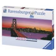 Ravensburger puzzle podul oakley bay, san francisco 1000 piese