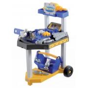 Écoiffier atelier de lucru pe roţi Mecanics 2455 albastru-galben