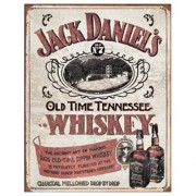 """Sign - Jack Daniels Rare Old Time Sippin Whiskey"""