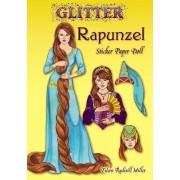 Glitter Rapunzel Sticker Paper Doll by Eileen Miller