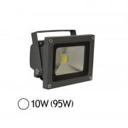 Vision-EL Projecteur Led 10W (95W) ext IP65 Blanc jour