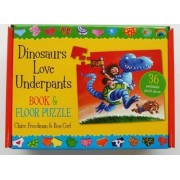 Dinosaurs Love Underpants Book and Jigsaw by Claire Freedman
