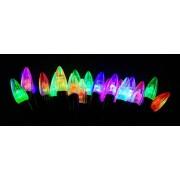 Гирлянда электрическая Свечи 40 LED цветного свечения