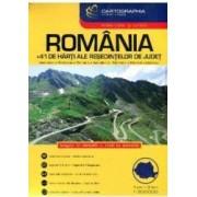 Romania - Atlas rutier si turistic