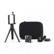 Kit Travel Selfie cu mini trepied Gigaflash (Negru)