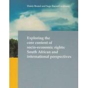 Exploring the Core Content of Socio-Economic Rights by Danie Brand