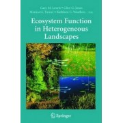 Ecosystem Function in Heterogeneous Landscapes by G. Lovett