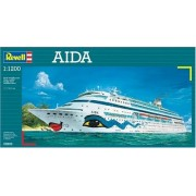 Revell AIDA Cruise Ship 1:1200 Scale Model