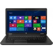 "Laptop HP ZBook 17 G2 (Procesor Intel® Quad-Core™ i7-4710MQ (6M Cache, up to 3.50 GHz), 17.3""HD+, 4GB, 1TB @7200rpm, nVidia Quadro K1100M@2GB, Thunderbolt, Wireless AC, FPR, Win7 Pro 64 + Win8.1 Pro 64)"