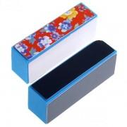 Buffer Albastru cu Floricele - Fin