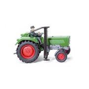 Fendt Farmer IIS Tractor Vintage con cortador y Controlador