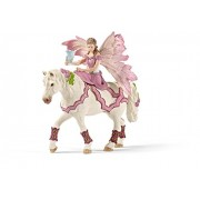 Schleich Feya in Festive Clothes Riding Toy Figure