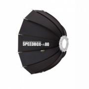 SMDV Speedbox-A80B - Dodecagon Softbox, montura Bowens