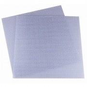 15.75 X 15.75 Clear Construction Base Plates - 2 Pack Bundle - LEGO Compatible