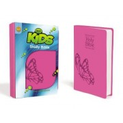 KJV, Kids Study Bible, Imitation Leather, Pink by Dr. Lawrence O. Richards