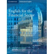 English for the Financial Sector Student's Book by Ian Mackenzie