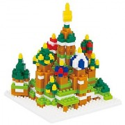 Kawada Nanoblock St. Basil's Cathedral Building Kit (Japan Import)