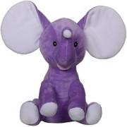 Wow tots Cuddly Elephant Soft Toy (Purple)