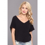 Free People Summer Romance Sweater Charcoal