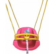 suraj baby pink color heavy plastic swing(jhula) for your kids se-sj-08