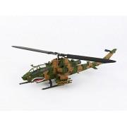 Avioni-X de la aviacioen de la escuela la escuela Kasumigaura 1/144 AH-1S Cobra Planta Fuerza de Autodefensa