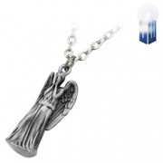 Doctor Who Weeping Angel Pendant Necklace